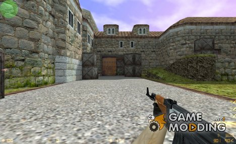 Awsome AK 47 wood texture for Counter-Strike 1.6