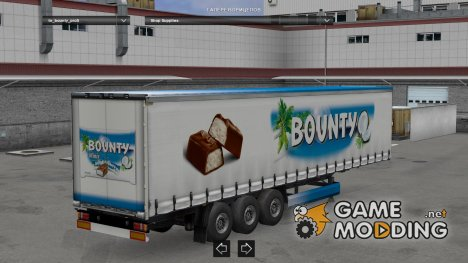 Chocolate Trailer Pack for Euro Truck Simulator 2