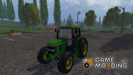 John Deere 6100 for Farming Simulator 2015