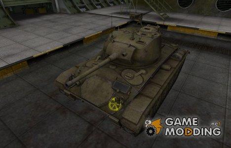 Качественные зоны пробития для M24 Chaffee for World of Tanks