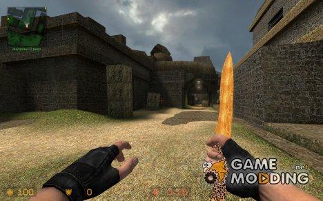 Wooden Jaguar Knife for Counter-Strike Source