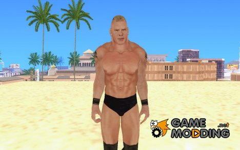 Brock Lesnar 2003 from HCTP for GTA San Andreas
