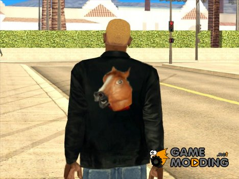 Куртка Лошадиная Башка for GTA San Andreas