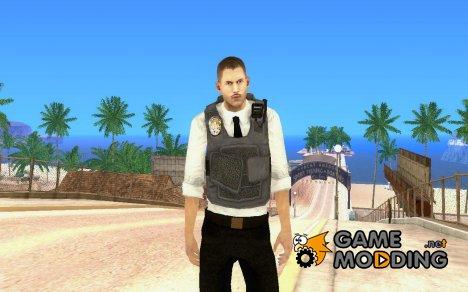 Новый полицейский на замену старому lvpd1 для GTA San Andreas