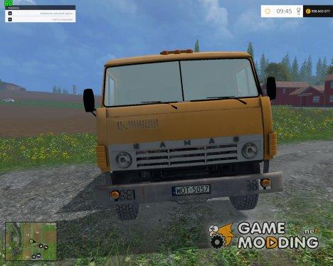 KamAZ-55102 v1.1 для Farming Simulator 2015