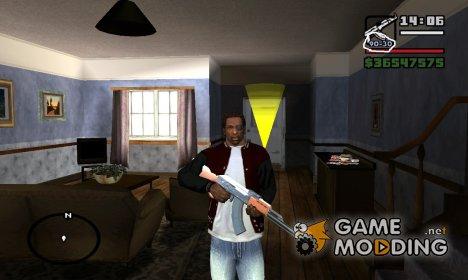 Оружие не перезаряжается при прокрутке for GTA San Andreas