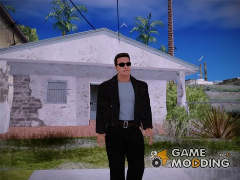 WWE2k16 Arnold Schwarzenegger Terminator for GTA San Andreas