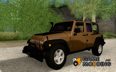 Jeep Wrangler Rubicon Unlimited 2012 for GTA San Andreas