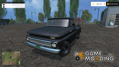 1966 Chevrolet Custom Chevy 4x4 v1.0 для Farming Simulator 2015