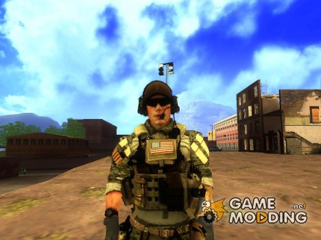 Technical Soldier / Engineer (Battlefield 4) для GTA San Andreas