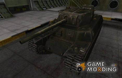 Шкурка для американского танка T1 Heavy для World of Tanks
