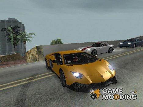 Lamborghini Aventador LP720-4 50 - Anniversario 2013 for GTA San Andreas