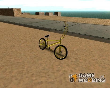 Yellow BMX for GTA San Andreas