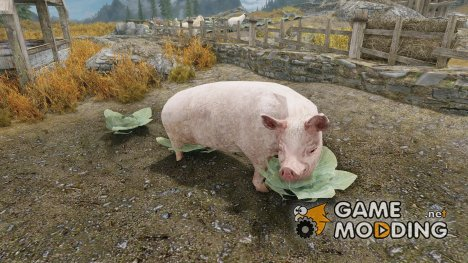 Summon Farm Animals - Mounts and Followers for TES V Skyrim