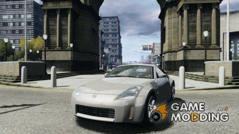 Nissan Fairlady 350Z for GTA 4