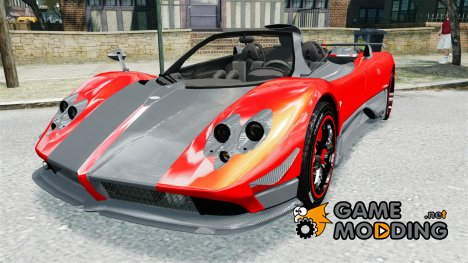 Pagani Zonda Cinque Roadster v2.0 for GTA 4
