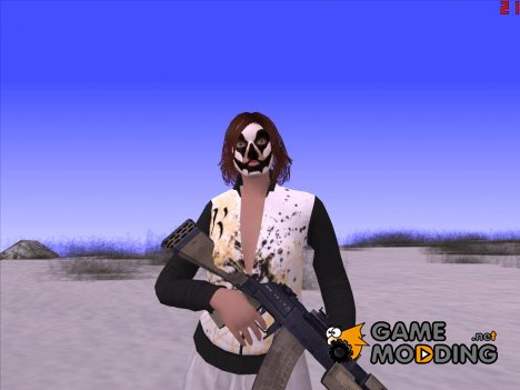 Skin HD Female GTA Online v1 для GTA San Andreas