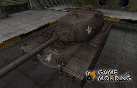 Исторический камуфляж M103 for World of Tanks