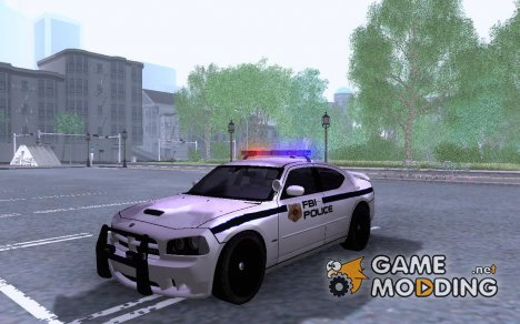 FBI Dodge Charger Police for GTA San Andreas