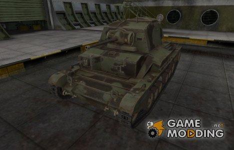 Пустынный скин для Cruiser Mk. II для World of Tanks