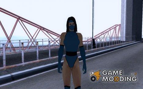 Mortal Kombat II Kitana для GTA San Andreas