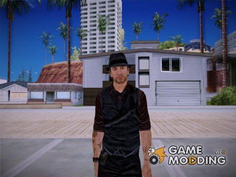Ronan O'Connor From Murdered Soul Suspect для GTA San Andreas