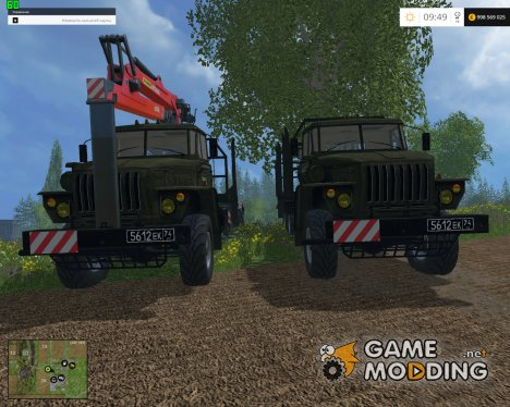 Лесовоз УРАЛ for Farming Simulator 2015