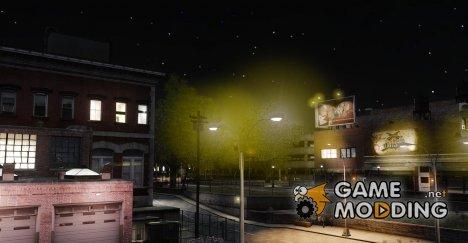Жёлтый свет огней для GTA 4