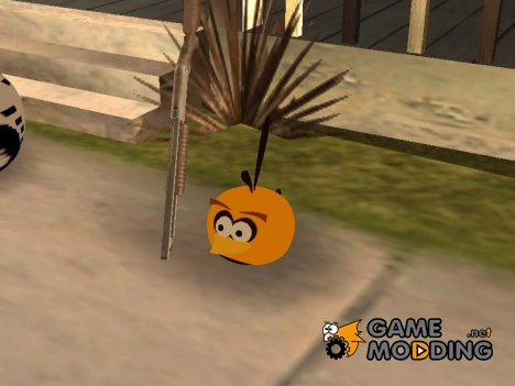 Orange Bird from Angry Birds для GTA San Andreas