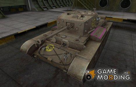 Контурные зоны пробития Comet for World of Tanks