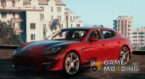 2010 Porsche Panamera Turbo for GTA 5