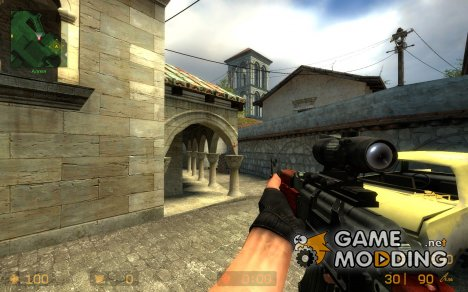ACOG Scope AK47 для Counter-Strike Source