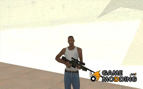 Accuracy International L96A1 для GTA San Andreas
