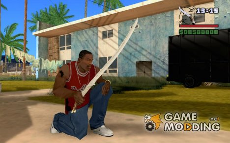 Хадхафанг - меч Арвен for GTA San Andreas
