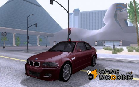 BMW E46 M3 - Stock for GTA San Andreas