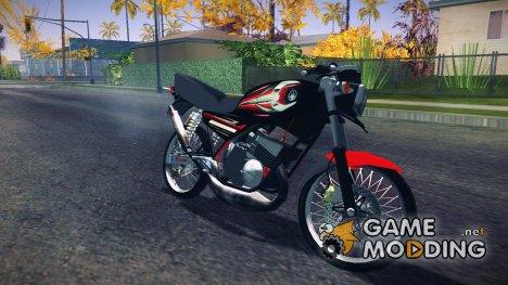 Yamaha RX-King 135 for GTA San Andreas