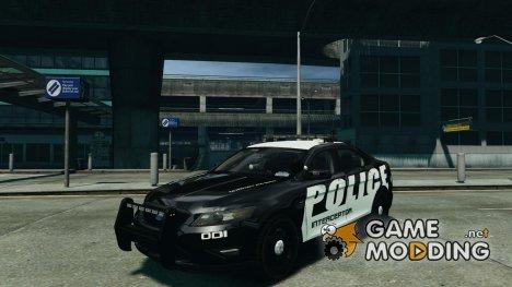 Ford Taurus Police Interceptor 2011 для GTA 4
