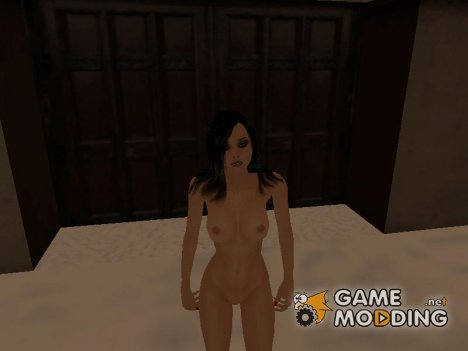 Angelica black nude для GTA San Andreas
