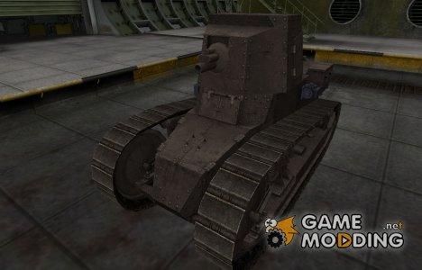 Перекрашенный французкий скин для Renault FT 75 BS for World of Tanks