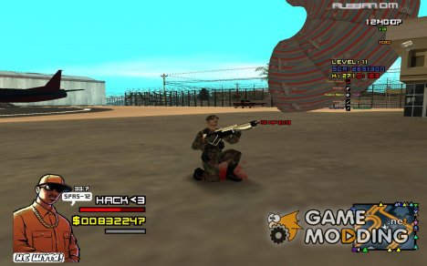 C-HUD Си-Джей for GTA San Andreas