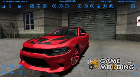 Dodge Charger Hellcat for Street Legal Racing Redline