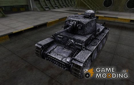 Темный скин для PzKpfw 38 (t) для World of Tanks