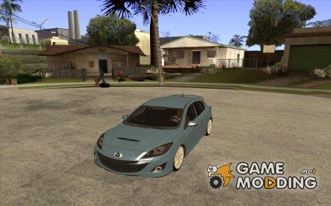 Mazda Mazdaspeed3 2010 for GTA San Andreas