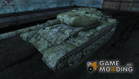 Шкурка для Т-54 зимний for World of Tanks
