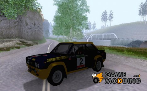 Fiat 131 Mirafiori Abarth for GTA San Andreas