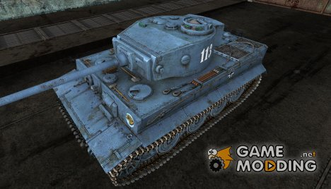 PzKpfw VI Tiger Martin_Green for World of Tanks