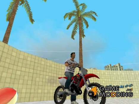 Honda CR125R '01 for GTA Vice City