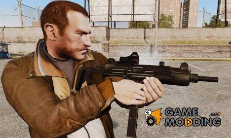 Тактическая узи v3 для GTA 4