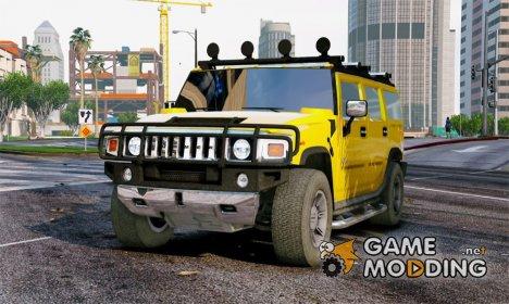2005 Hummer H2 2.0 для GTA 5