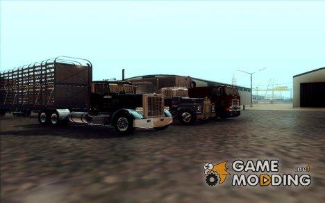 Пак дальнобойщика для GTA San Andreas